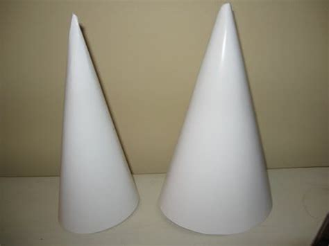 how to decorate a styrofoam cone for 1000 images about paper cone templates on