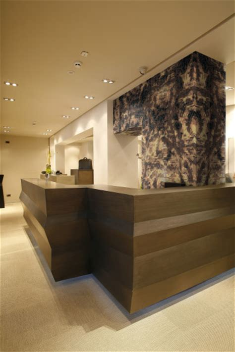 Tiled Reception Desk Tiled Reception Desk Barnwood Chief Tile Reception Desk A Sleek Tile And Glass Reception