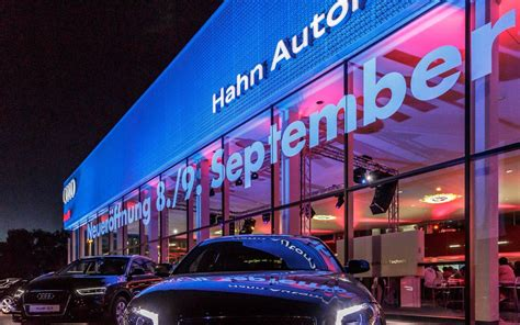 Hahn Audi Ludwigsburg by Hahn Gruppe Hahn Automobile Gro 223 Er Audi Terminal Der