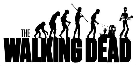 "THE WALKING DEAD EVOLUTION LOGO REFRIGERATOR MAGNET (5""x2½"")"
