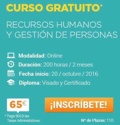 curso devoluciones y compensaciones 2016 entreagentes convocatoria curso recursos humanos y