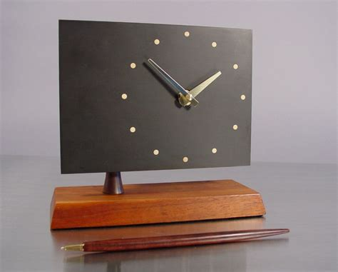 Desk Clocks Modern 17 Best Images About Clocks Orologi On Mid Century Modern Clock And Modern Wall