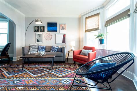 Design Sponge Living Room by Before After A Logan Square Stunner For The Color