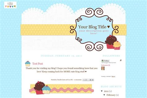 blogger themes kawaii free cute blogger templates eskindria com