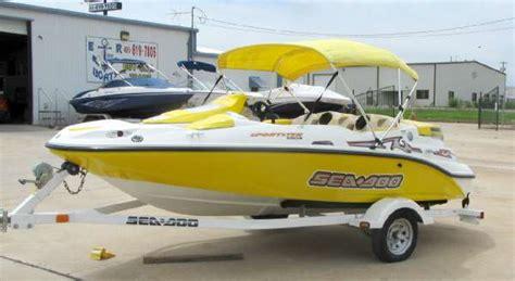 sea doo jet boat craigslist seadoo sportster 4 tec jet boat vehicles for sale