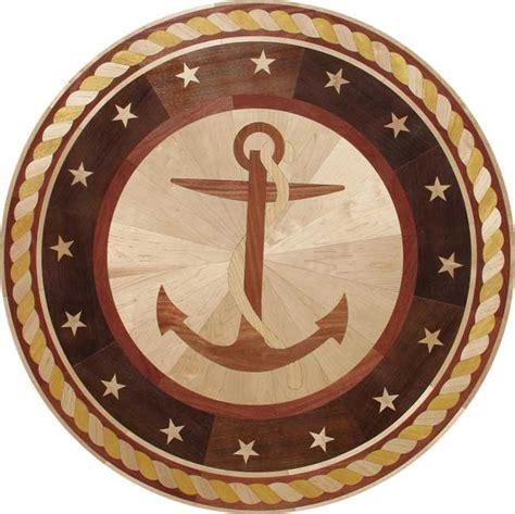 Medallion Wood Floors by Anchor Wood Floor Inlay Medallion Entryway Ideas For