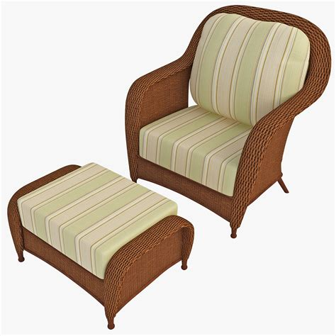 Rattan Armchair 3ds Max Outdoor Rattan Armchair Chair