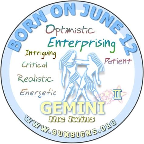 june 12th birthday astrology profile sunsigns org