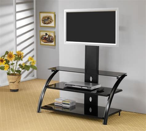 Living Room Tv Stand by Living Room Tv Consoles Contemporary Black Tv Console