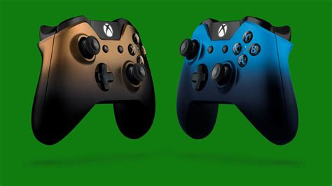 Xbox One S Controller Cooper Shadow two new xbox one special edition wireless controllers