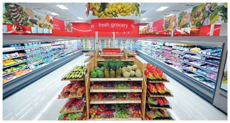 walmart food section target and walmart are prettying up their stores to woo