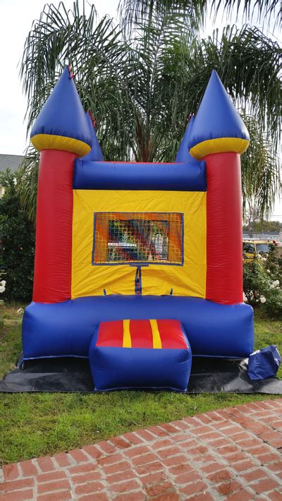 Mini Bouncy Castle Bounce House Jumper Rentals Los Bounce House Rental Ca