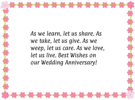 wedding anniversary quote for anniversary quotes quotesgram
