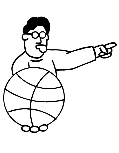 football referee coloring page referee clip art