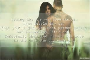 Love Quotes For The One You Love by Losing The One You Love Hurts Silver Quotes