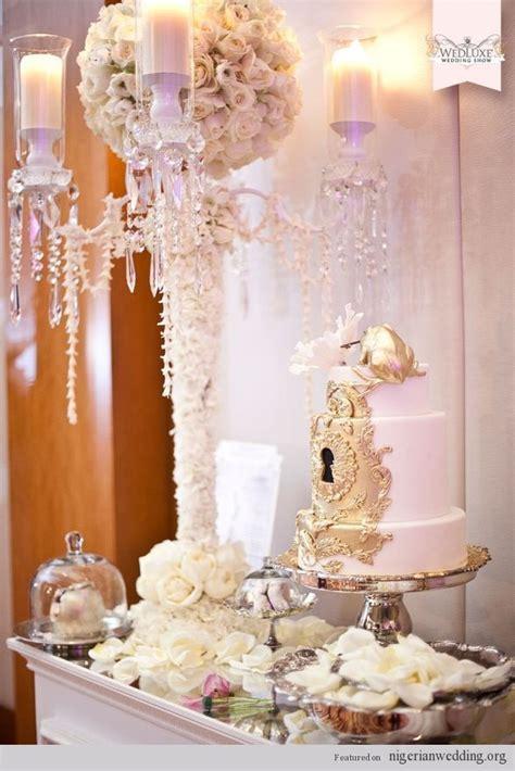 Wedding Cake Table Decorations   Nigerian Wedding Cakes: 4