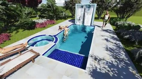 Spa Interior De Sp by Piscina De Concreto Armado Spa E Sauna Projeto 20180
