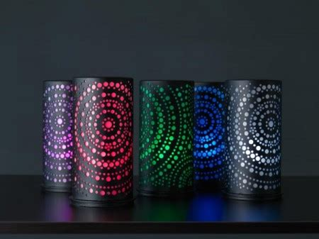led kerzenhalter duni led rechargeable candles multicoloured duni