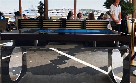 tavolo multitouch eventi d table d table