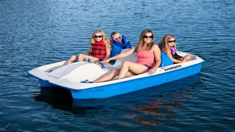 sun dolphin pedal boat reviews sun dolphin sun slider 5 seat pedal boat with canopy review