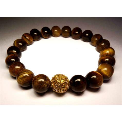 mala bouddhiste Le bracelet oeil de tigre SQ 467