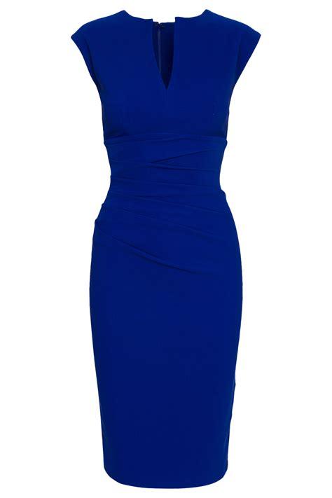 blauwe coctail jurk kobalt blauwe cocktailjurk populaire jurken uit de hele