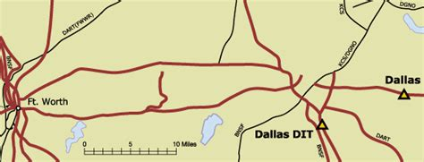wilmer texas map up dallas