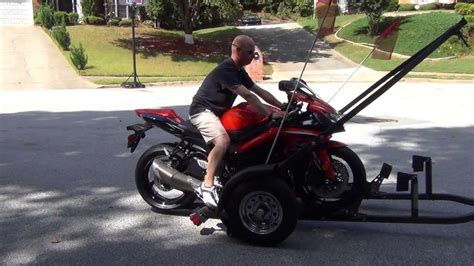 Motorcycle Trailer Review   YouTube