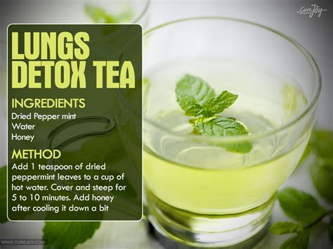 Detox Toxins Drink by This Tea Can Detox Your Lungs In 72 Hours Smooth