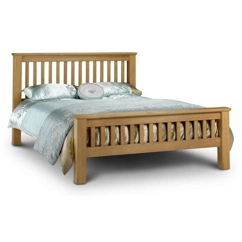 6 foot futon julian bowen amsterdam 6ft super king size solid oak bed