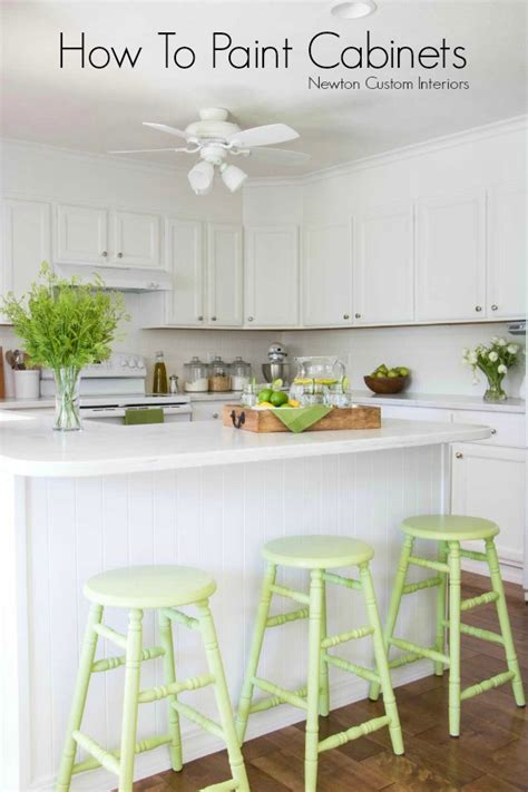 quick and easy way to paint kitchen cabinets how to paint kitchen cabinets quickly quicua com