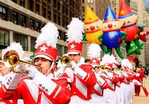 thanksgiving parades macys great american marching band in macys thanksgiving