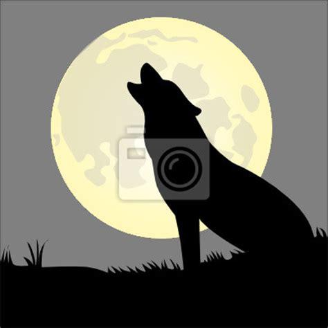 Aufkleber Heulender Wolf by Heulender Wolf Sticker Wandsticker Aufkleber Pixers De