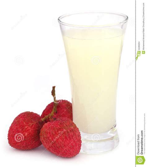 lychee juice lychee juice with fruits stock photo image 55289264