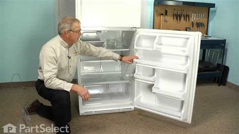 How To Set Crisper Drawer In Refrigerator by Refrigerator Repair Replacing The Crisper Drawer