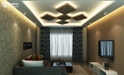 False Ceiling Designs For Living Room Saint Gobain Designs Of False Ceiling For Living Rooms