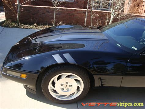 corvette stripes c4 corvette ce commemorative edition stripes