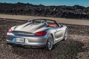 Porsche Spyder Boxster 2016 Porsche Boxster Spyder Drive Autoweb