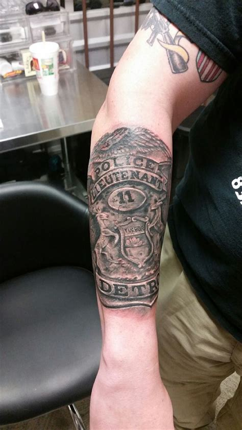 police with tattoos 66 best enforcement tattoos images on