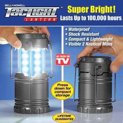 bell howell tac light lantern bell howell tac light emergency lantern from collections