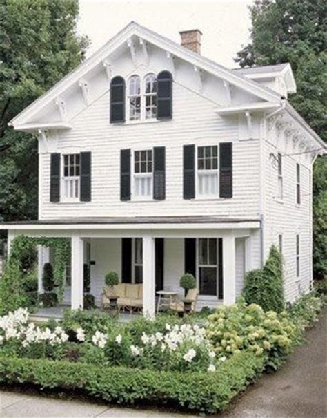 white house with black shutters white house black shutters cottage pinterest