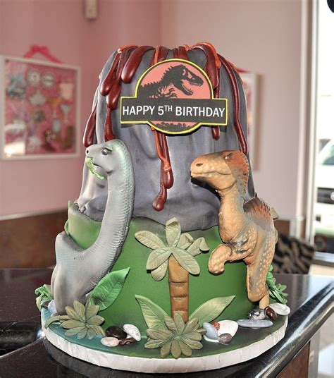 Jurassic Park Cake Decorations by Jurassic Park Cake Free No Molds Cake Cookie