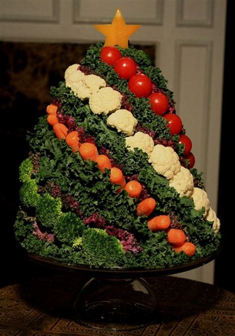 10 creative christmas veggie trays goods home design