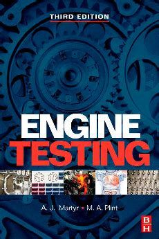 automotive mechanics book  engine testing  aj martyr ma plint