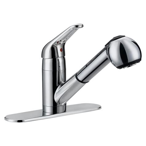kitchen faucets pull out ez flo prestige collection contemporary flair single