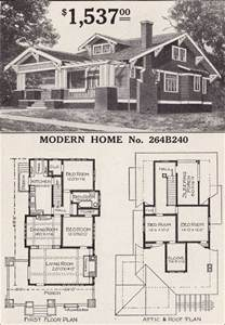 craftsman style homes floor plans sears craftsman style house modern home 264b240 the corona 1916 bungalow home plan