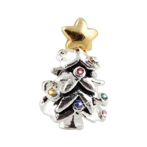 colorful christmas tree pandora charms christmas magic