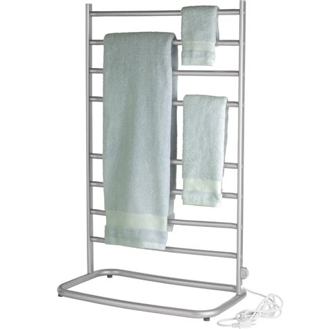 Luxury Power Outlets towel warmer stand in towel warmers