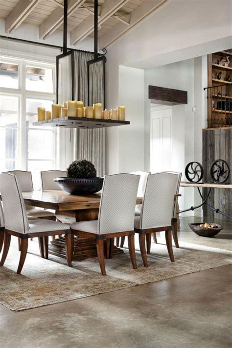 French Country Dining Room Ideas Rustikaler Esstisch Macht Die K 252 Che Zu Einem Interessanten Ort