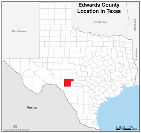 texas location map free and open source location map of edwards county texas mapsopensource